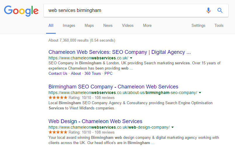 Web Services Birmingham
