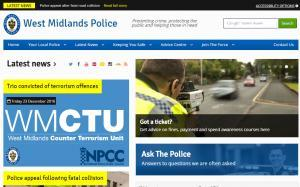 West Midlands Police Website