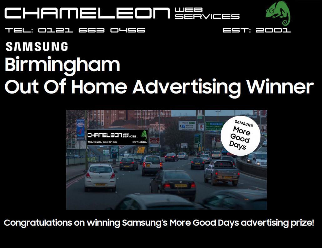 samsung advertising winner