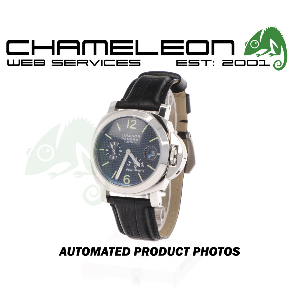 Panerai Luminor Watch Product Photography